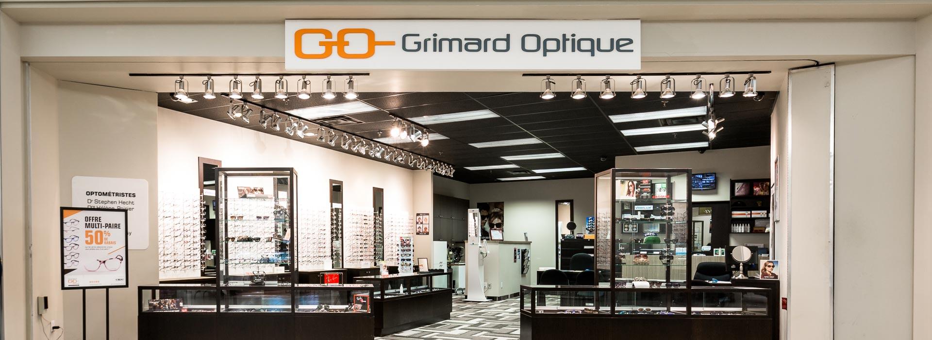 Grimard Optique lunetterie succursale Dollar-des-Ormeaux