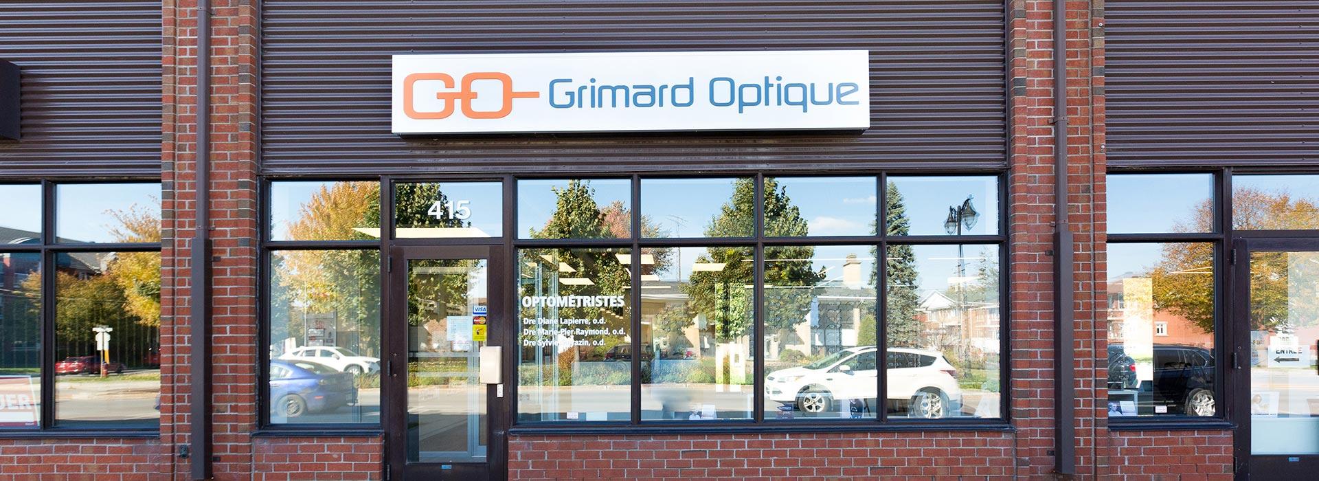 Grimard Optique lunetterie succursale Joliette