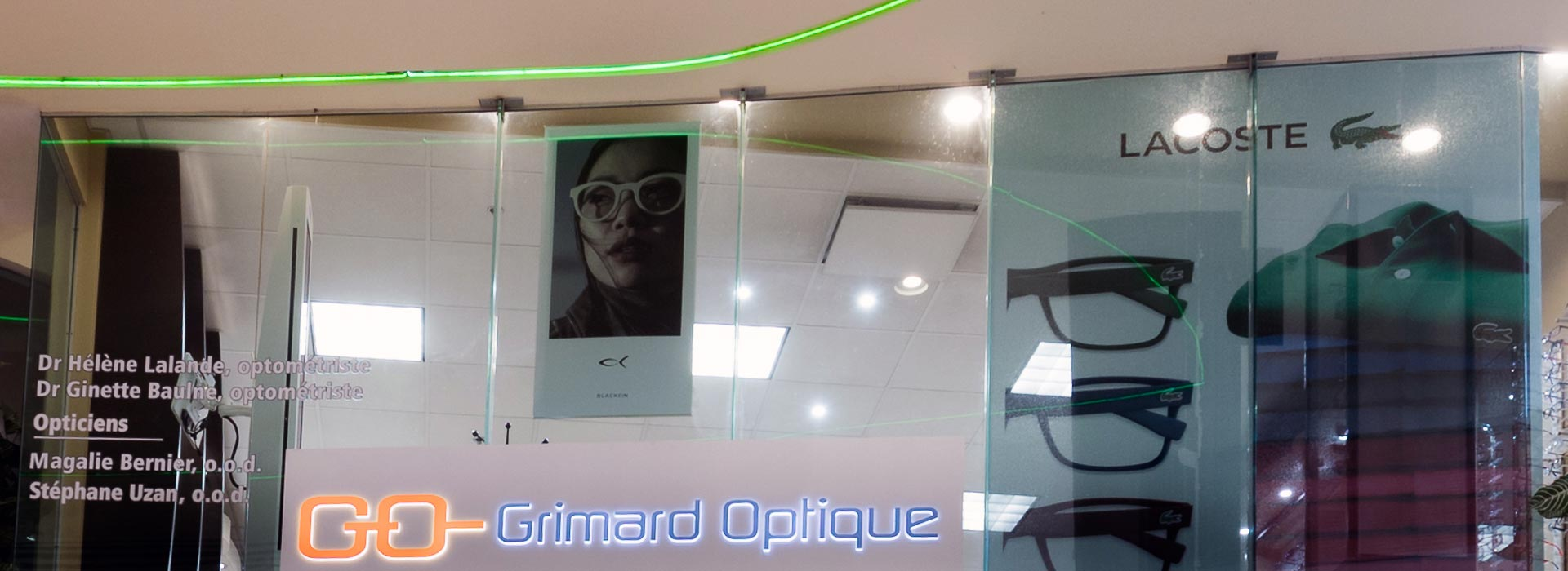 Grimard Optique lunetterie succursale Place Versailles