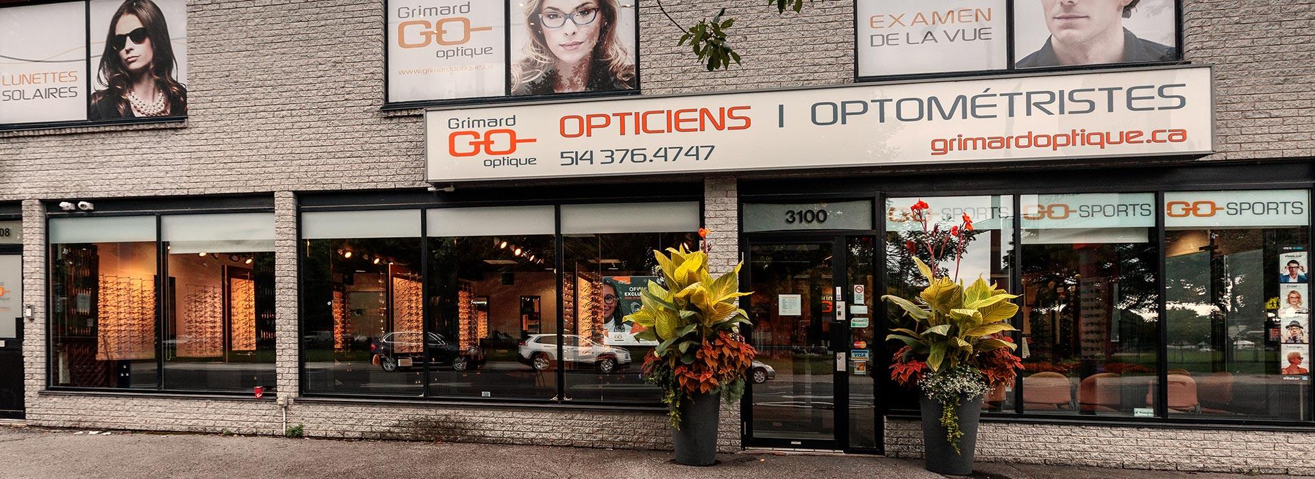 Grimard Optique lunetterie succursale Beaubien