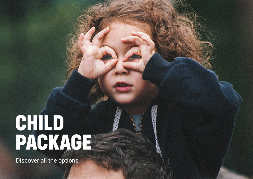 Discover our child package